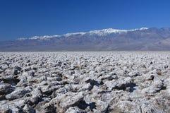 Stationnement national de Death Valley Image stock