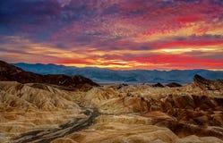 Stationnement national de Death Valley, la Californie photographie stock libre de droits