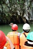 Stationnement national de fleuve souterrain Image libre de droits