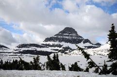 Stationnement national de glacier Image libre de droits