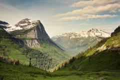 Stationnement national de glacier Images stock