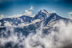 Stationnement national de glacier Photo stock