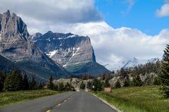 Stationnement national de glacier Images libres de droits