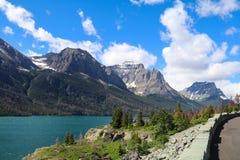Stationnement national de glacier Photographie stock