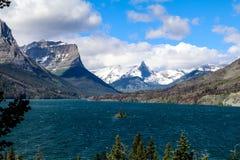 Stationnement national de glacier Image stock