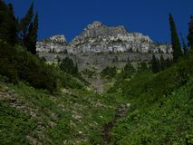 Stationnement national de glacier au Montana Image libre de droits