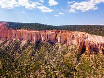 Stationnement national de gorge de Bryce en Utah Photographie stock libre de droits