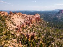 Stationnement national de gorge de Bryce en Utah Photo stock