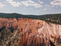 Stationnement national de gorge de Bryce en Utah Images stock