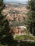 Stationnement national de gorge de Bryce Images libres de droits