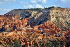 Stationnement national de gorge de Bryce Image libre de droits