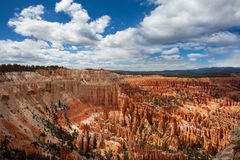 Stationnement national de gorge de Bryce Photographie stock