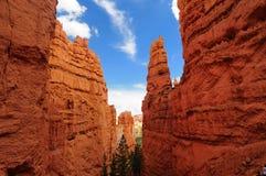 Stationnement national de gorge de Bryce, Utah images libres de droits