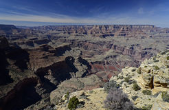 Stationnement national de gorge grande, Arizona, Etats-Unis Photographie stock