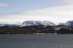Stationnement national de Gros Morne Photo stock