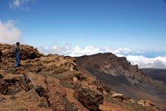 Stationnement national de Haleakala Image libre de droits