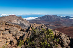 Stationnement national de Haleakala Photo stock