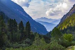Stationnement national de Hohe Tauern l'autriche Gorge alpine images libres de droits