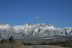 Stationnement national de jaspe, Canada Image libre de droits
