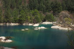 Stationnement national de Jiuzhaigou Photographie stock libre de droits