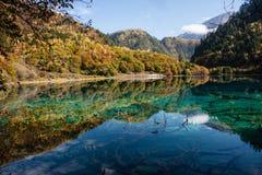 Stationnement national de Jiuzhaigou Images libres de droits