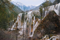 Stationnement national de Jiuzhaigou Photographie stock