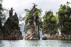 Stationnement national de Khao Sok Photo stock