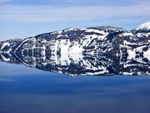 Stationnement national de lac crater images libres de droits