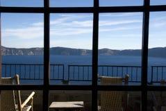 stationnement national de lac de cratère Photographie stock