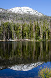 Stationnement national de lac sylvain, Yellowstone, Etats-Unis Photos stock