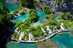 Stationnement national de lacs Plitvice Images libres de droits
