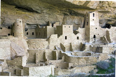 Stationnement national de MESA Verde, Co Photo stock