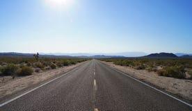 Stationnement national de Mojave Image libre de droits