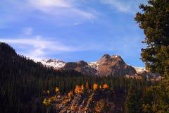 Stationnement national de montagne rocheuse image libre de droits