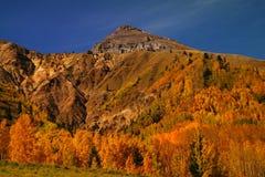 Stationnement national de montagne rocheuse photographie stock