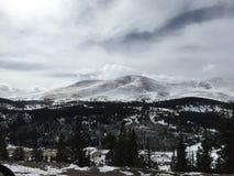Stationnement national de montagne rocheuse images stock