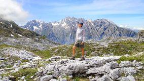 Stationnement national de Picos de Europa Photo stock