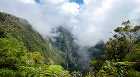 Stationnement national de Reunion Island Photo libre de droits