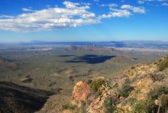 Stationnement national de Saguaro Images libres de droits