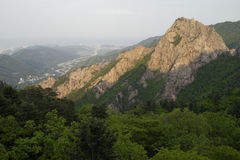 Stationnement national de Seoraksan, Corée du Sud Images libres de droits