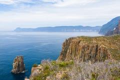 Stationnement national de Tasman, Tasmanie Photos stock