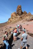 Stationnement national de Teide Photographie stock libre de droits