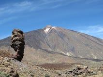 Stationnement national de Teide dans Tenerife Images libres de droits