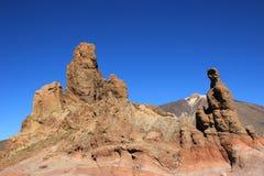 Stationnement national de Teide Ténérife, Espagne photo libre de droits