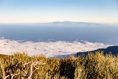 Stationnement national de Teide, Tenerife, Îles Canaries, Espagne Image libre de droits