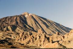 Stationnement national de Teide, Tenerife, Îles Canaries, Espagne Images stock