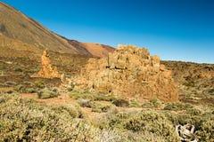 Stationnement national de Teide, Tenerife, Îles Canaries, Espagne Photographie stock