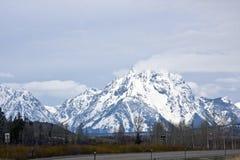 Stationnement national de Teton image libre de droits