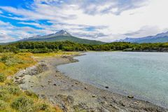 Stationnement national de Tierra del Fuego Image stock