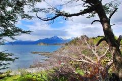 Stationnement national de Tierra del Fuego Photographie stock libre de droits